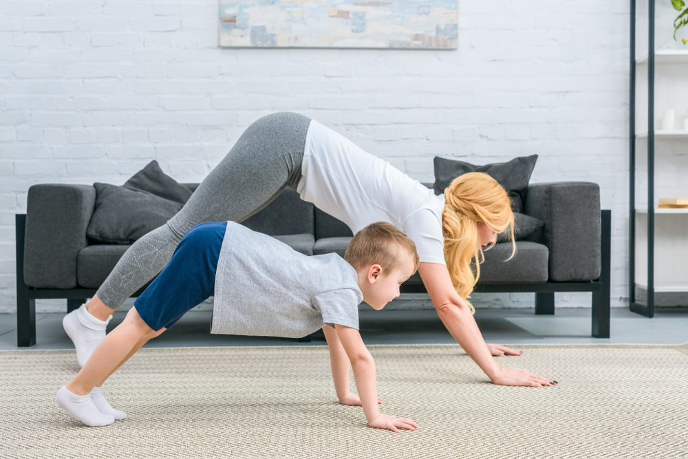 Faire du sport avec vos enfants